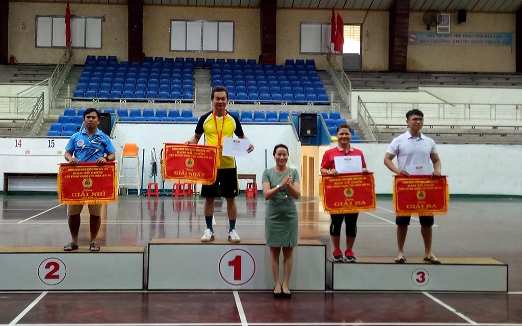Bế mạc Hội thao Cụm thi đua số 4 Công đoàn Viên chức tỉnh năm 2017