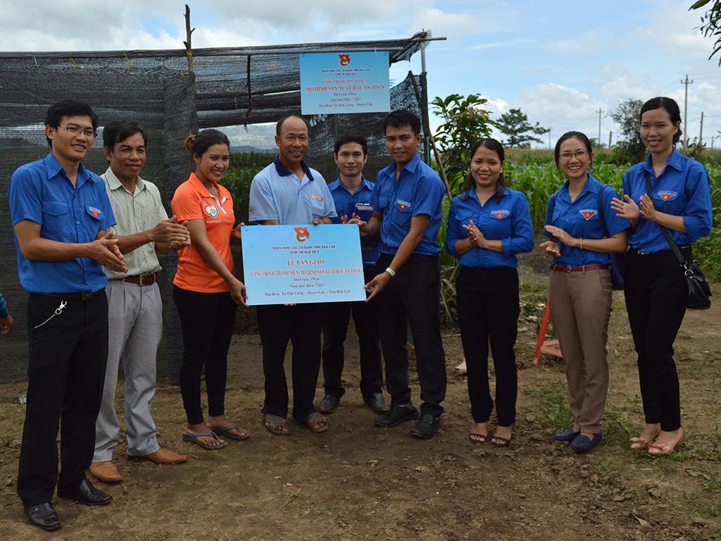 Cụm thi đua số 6 Đoàn Khối Các cơ quan tỉnh tổ chức Chiến dịch Kỳ nghỉ hồng năm 2017 tại xã Đắk Liêng, huyện Lắk