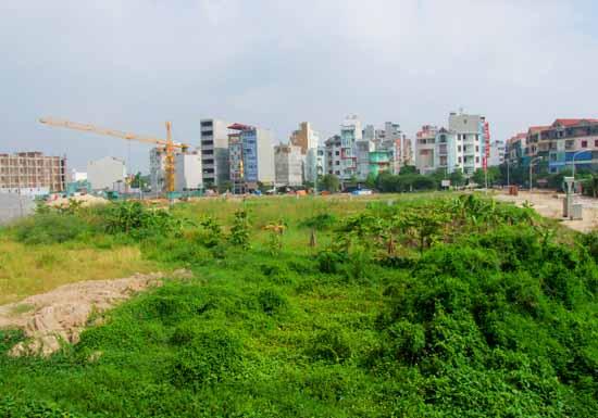 Lập kế hoạch sử dụng đất năm 2018 cấp huyện