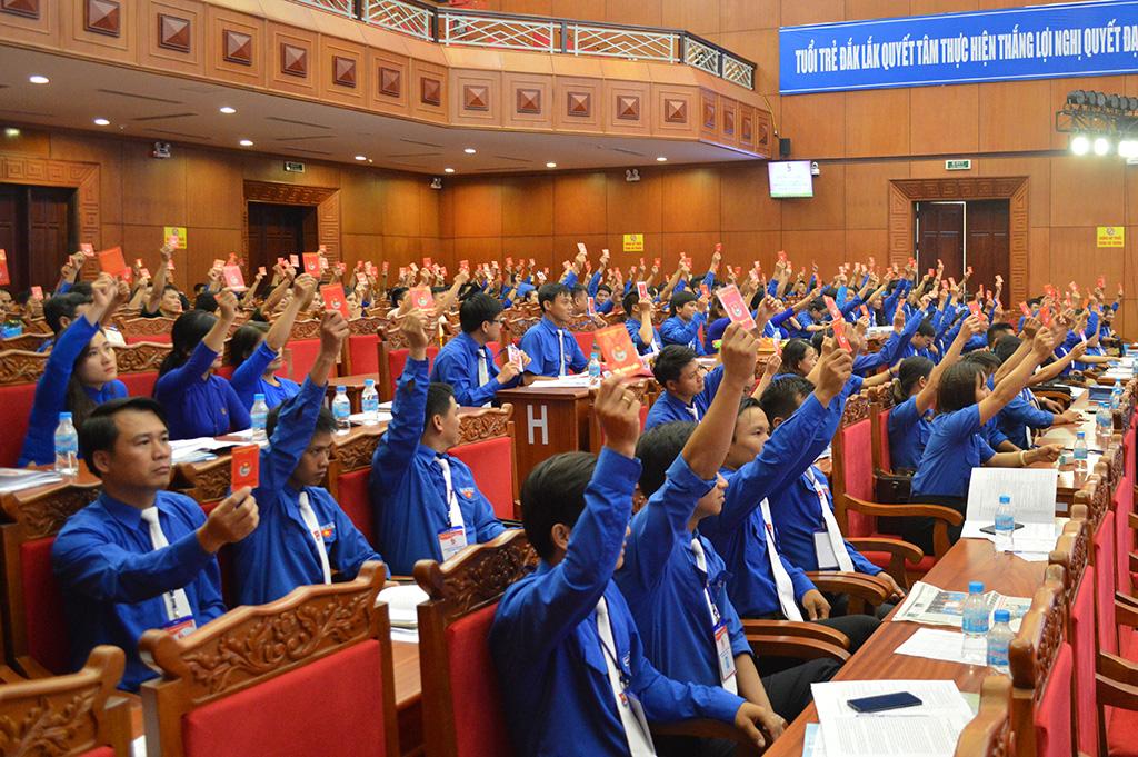 13 đại biểu đại diện cho tuổi trẻ Đắk Lắk dự Đại hội Đại biểu Đoàn TNCS Hồ Chí Minh toàn quốc lần thứ XI