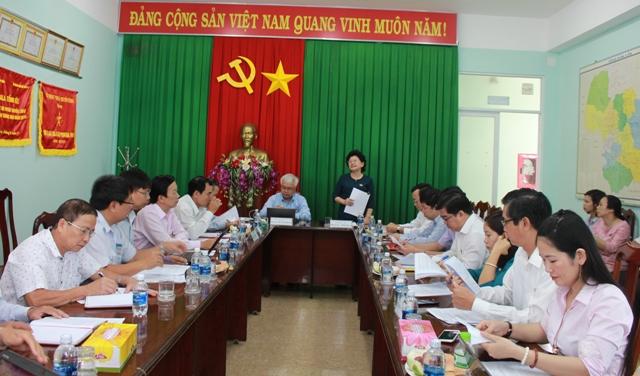 Đoàn giám sát của Quốc hội làm việc với Sở Thông tin và Truyền thông và Sở Nội vụ