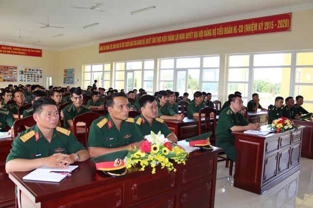 Bộ Chỉ huy Bộ đội Biên phòng tỉnh Đắk Lắk khai mạc huấn luyện  quân nhân dự bị năm 2017