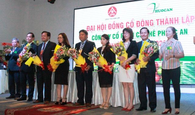 Công ty cổ phần cà phê Phước An tổ chức đại hội cổ đông nhiệm kỳ 2017-2022