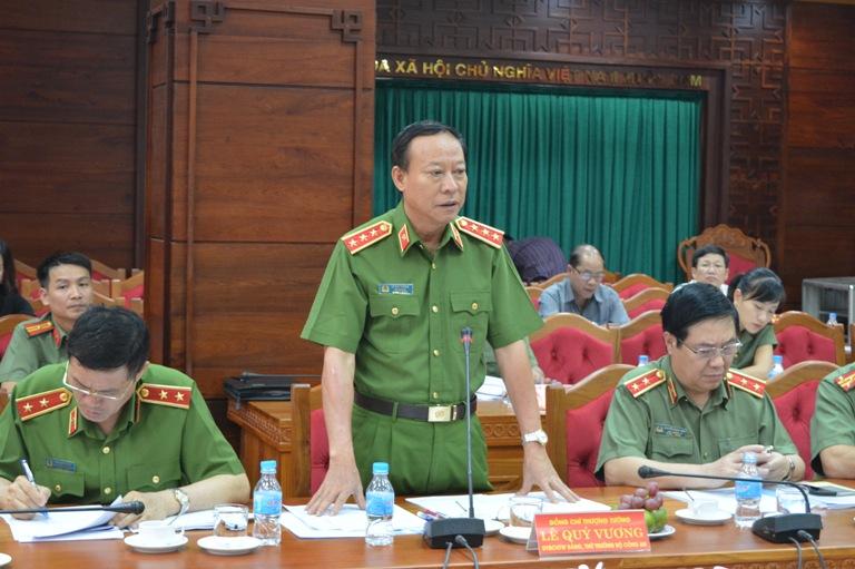 Đoàn kiểm tra Ban Chỉ đạo Cải cách hành chính của Chính phủ làm việc tại tỉnh.