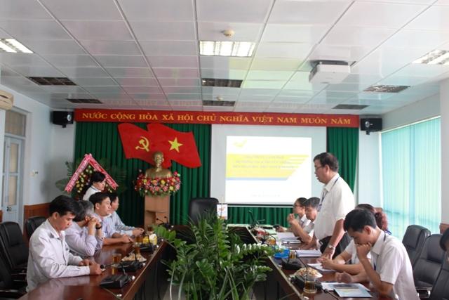 Sở Thông tin và Truyền thông thăm, chúc mừng Bưu điện tỉnh và VNPT Đắk Lắk