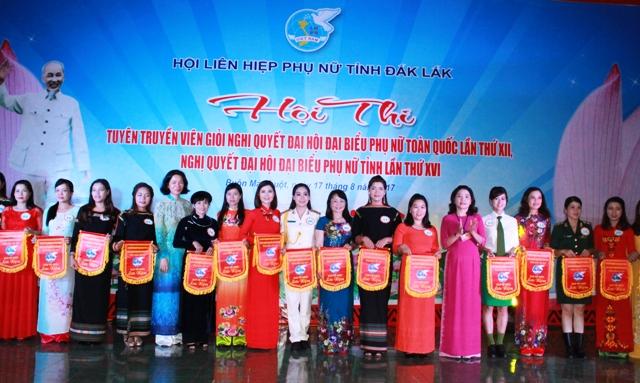 Khai mạc Hội thi tuyên truyền Nghị quyết Đại hội đại biểu Phụ nữ toàn quốc lần thứ XII
