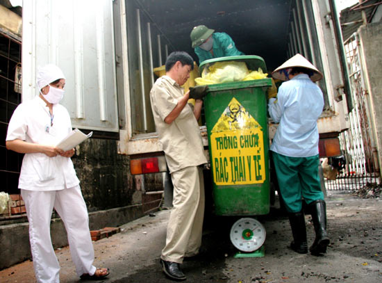 Truyền thông về Quản lý chất thải y tế tỉnh Đắk Lắk giai đoạn 2017-2021