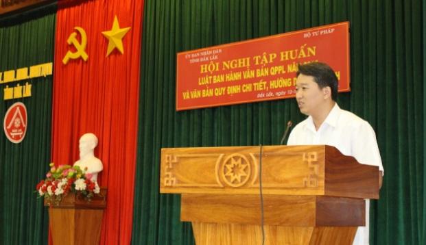 Báo cáo về việc thực hiện chính sách pháp luật trên địa bàn tỉnh