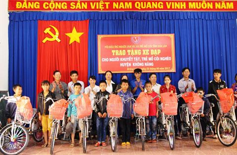 Phê duyệt Điều lệ Hội Bảo trợ người tàn tật và trẻ mồ côi huyện Krông Năng khóa I, nhiệm kỳ 2017 – 2022.