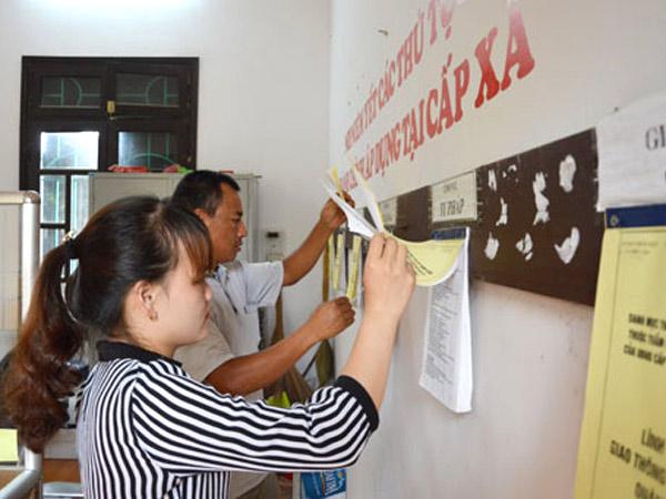 Xây dựng xã, phường, thị trấn đạt chuẩn tiếp cận pháp luật năm 2017