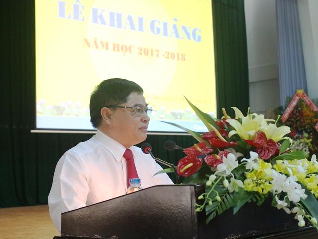 Trường Chính trị tỉnh khai giảng năm học 2017-2018