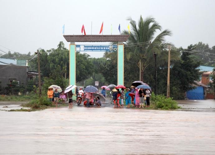 Thông báo của Chủ tịch UBND tỉnh về công tác phòng, chống thiên tai cứu nạn