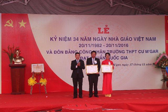 Trường THPT Cư M'gar – điểm sáng của phong trào thi đua dạy tốt, học tốt của ngành Giáo dục tỉnh Đắk Lắk