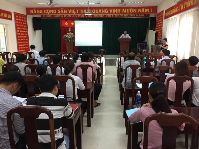 Đắk Lắk bồi dưỡng lập kế hoạch, tổ chức thực hiện nhiệm vụ cải cách hành chính năm 2017