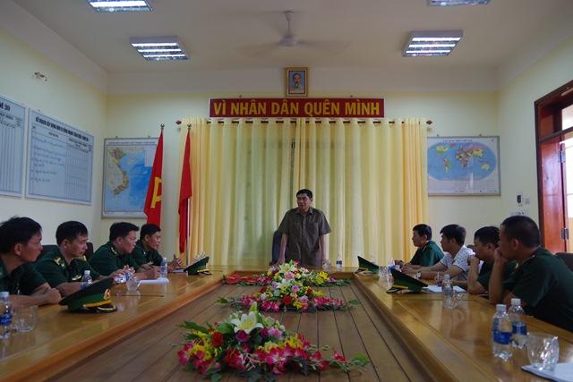Lãnh đạo Tỉnh ủy Đắk Lắk thăm và làm việc tại các Đồn Biên phòng thuộc địa bàn huyện Ea Súp