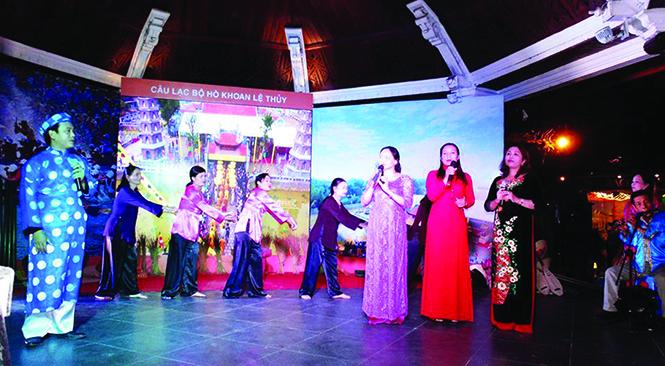 UBND tỉnh Quảng Bình đề nghị tuyên truyền Chương trình Lễ tôn vinh và đón Bằng công nhận Hò khoan Lệ Thủy – Di sản Văn hóa Phi vật thể Quốc gia