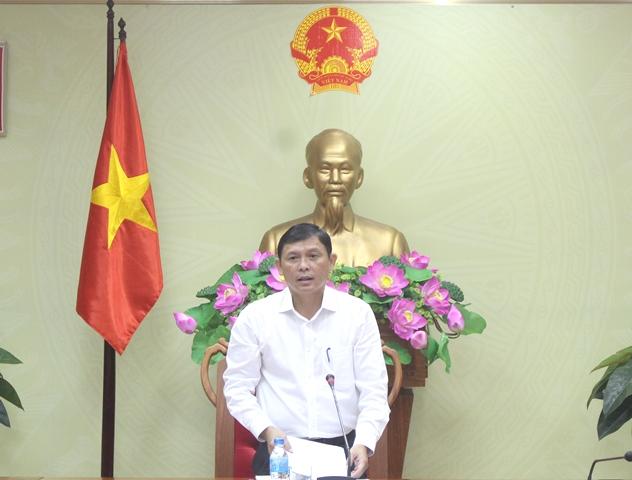 Họp Ban Công tác về các tổ chức phi chính phủ của tỉnh