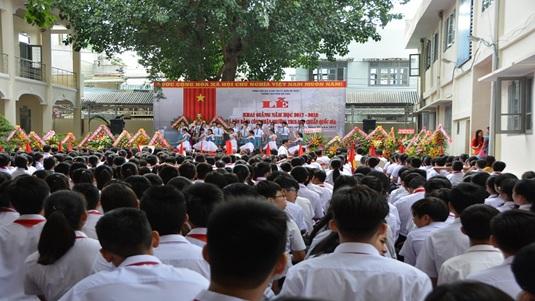 Trường THCS Phan Bội Châu khai giảng năm học và đón Bằng công nhận trường Chuẩn quốc gia