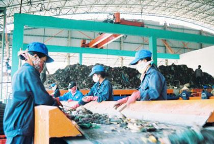 Đăng ký xây dựng mô hình xử lý chất thải rắn quy mô liên xã