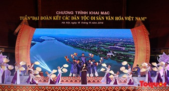 """Tổ chức Tuần 'Đại đoàn kết các dân tộc – Di sản văn hóa Việt Nam"""" năm 2017"""
