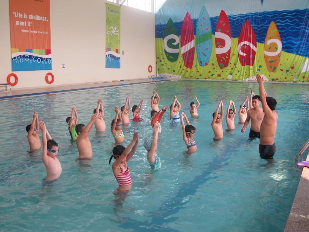Quy định giá dịch vụ bơi lội ở các cơ sở giáo dục