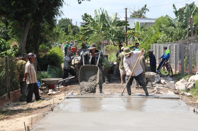 Bố trí kinh phí đầu tư xây dựng công trình đường liên xã Ea Kuăng – Ea Hiu, huyện Krông Pắc