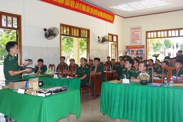 Bộ đội Biên phòng tỉnh tập huấn nghiệp vụ năm 2017