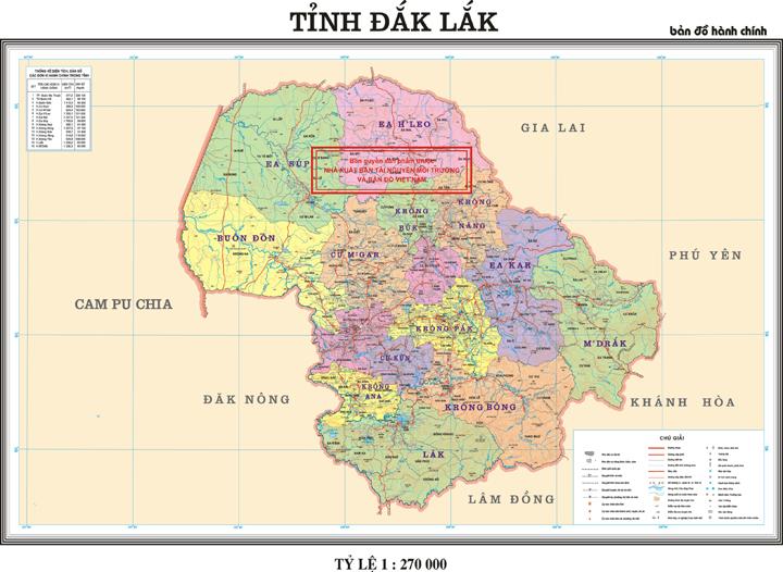 Báo cáo tình hình triển khai thực hiện và kết quả sử dụng kinh phí của Dự án 513 trên địa bàn tỉnh Đắk Lắk