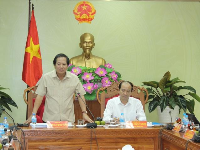 Bộ trưởng Bộ Thông tin-Truyền thông làm việc với tỉnh Đắk Lắk