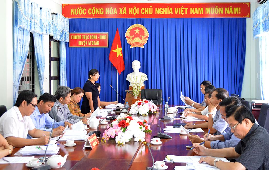Nhiều nét tích cực trong thực hiện Chương trình 755 tại huyện M' Đrắk