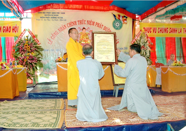 Thành lập Niệm phật đường Từ Lâm, huyện Ea H'Leo