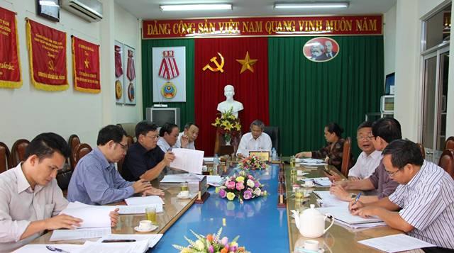 Hội nghị sơ kết công tác kiểm tra, giám sát và thi hành kỷ luật trong Đảng