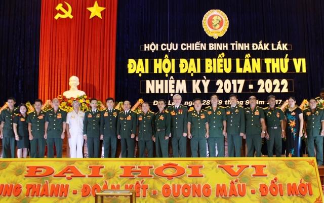 Đại hội đại biểu Hội Cựu Chiến binh tỉnh lần thứ VI, nhiệm kỳ 2017-2022