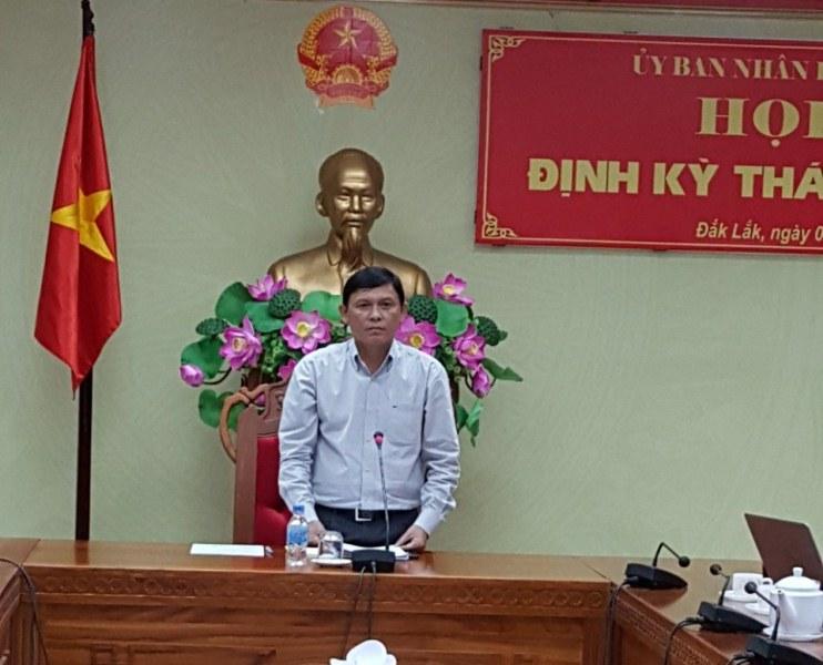 UBND tỉnh Đắk Lắk tổ chức Họp báo định kỳ tháng 9/2017