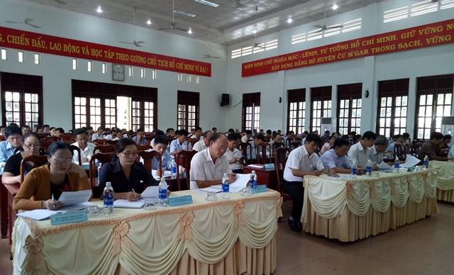 Hội nghị Ban Chấp hành Đảng bộ huyện Cư M'gar lần thứ 10 khóa VIII (mở rộng)