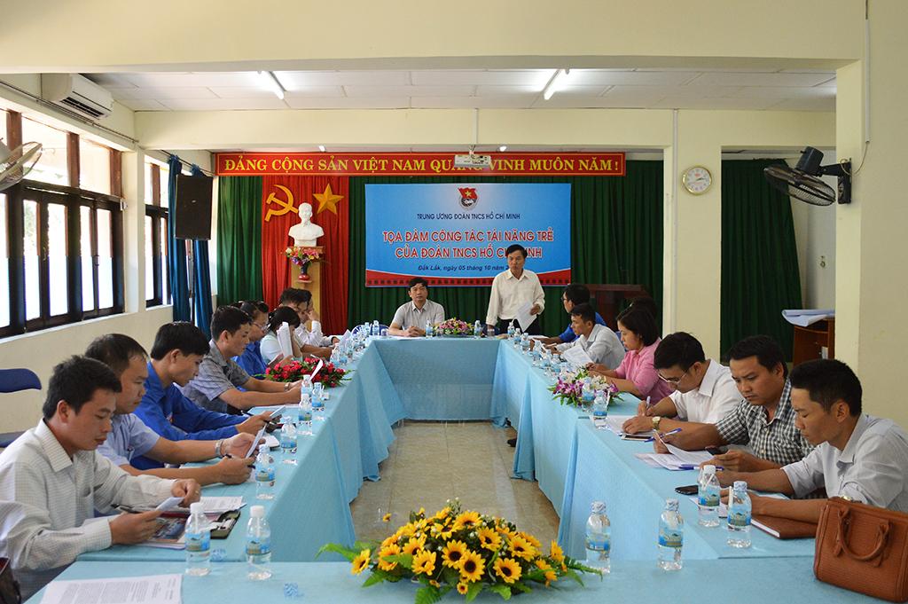 Tọa đàm về công tác tài năng trẻ của Đoàn TNCS Hồ Chí Minh