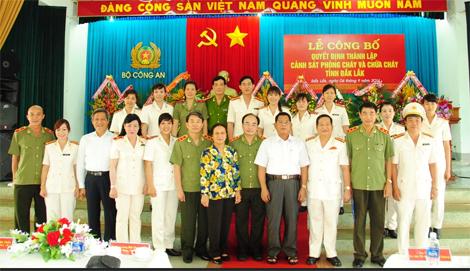 Tích cực xây dựng phong trào toàn dân tham gia phòng cháy chữa cháy trên địa bàn tỉnh Đắk Lắk
