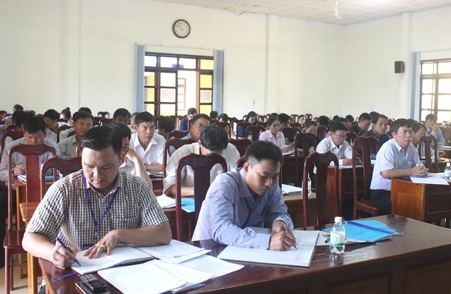 UBND huyện Cư Kuin triển khai nhiệm vụ Quý IV năm 2017