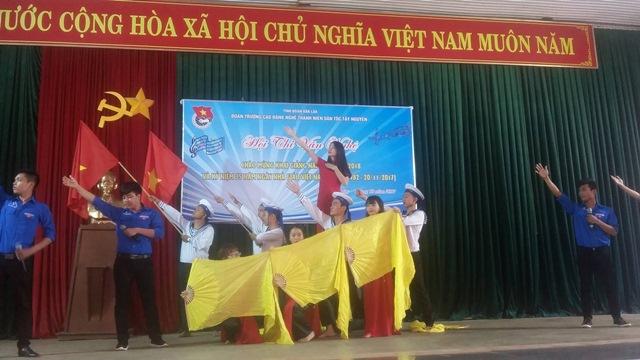 Hội thi văn nghệ chào mừng Khai giảng năm học 2017 – 2018 và kỷ niệm 35 năm ngày Nhà giáo Việt Nam