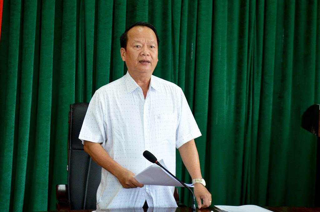 Giám sát công tác cấp Giấy chứng nhận quyền sử dụng đất tại huyện Cư Kuin.