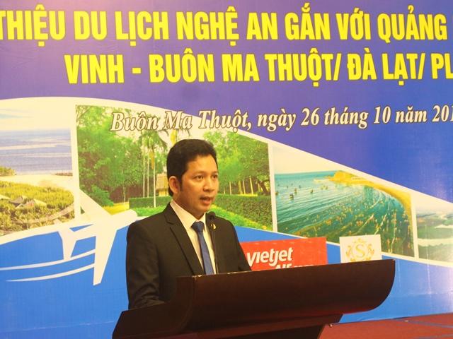 Chương trình giới thiệu du lịch Nghệ An gắn với quảng bá đường bay Vinh – Buôn Ma Thuột/Đà Lạt/Pleiku