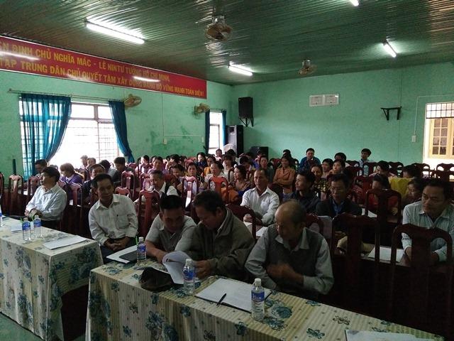 Phòng giao dịch NHCSXH huyện Lắk với công tác tập huấn tín dụng chính sách