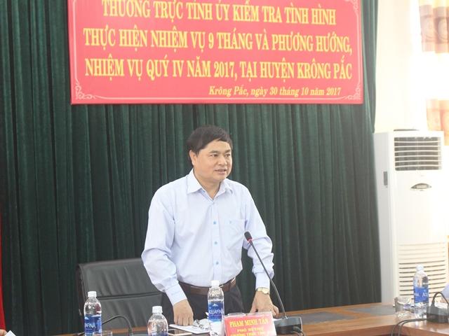 Huyện Krông Pắk: Thu ngân sách Nhà nước vượt 27,38% so với cùng kỳ năm 2016