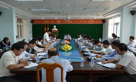 Thường trực Thành ủy Buôn Ma Thuột: Hội nghị giao ban với các Bí thư phường, xã tháng 10/2017