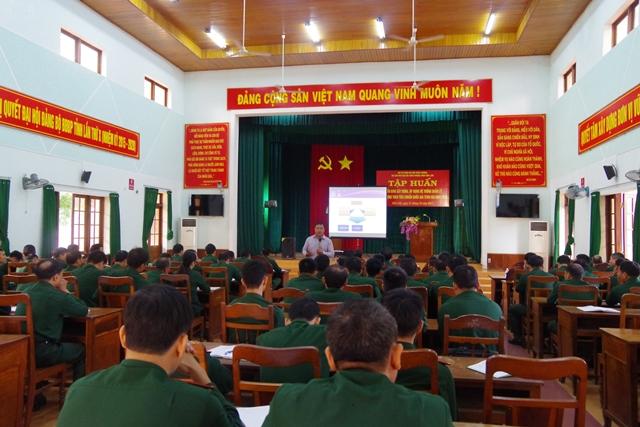 Bộ đội Biên phòng tỉnh Đắk Lắk tập huấn xây dựng và áp dụng hệ thống Quản lý chất lượng TCVN ISO 9001 : 2008