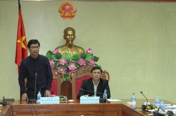 Bộ Xây dựng làm việc với UBND tỉnh về công tác quy hoạch, kiến trúc cảnh quan đô thị trên địa bàn thành phố Buôn Ma Thuột.