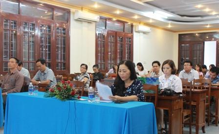 Hội nghị trực tuyến cung cấp thông tin định kỳ về BHXH, BHYT tháng 10/2017
