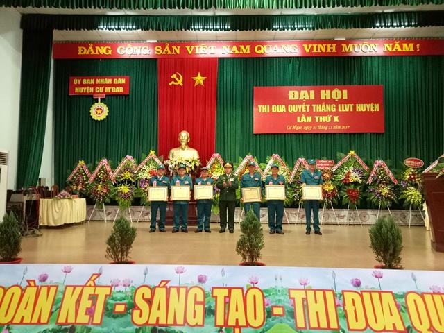 Huyện Cư M'gar tổ chức đại hội thi đua Quyết thắng LLVT huyện lần thứ X (giai đoạn 2012-2017)