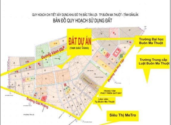 Phê duyệt Nhiệm vụ Quy hoạch phân khu tỷ lệ 1/2000 khu phía Đông Bắc, thành phố Buôn Ma Thuột, tỉnh Đắk Lắk