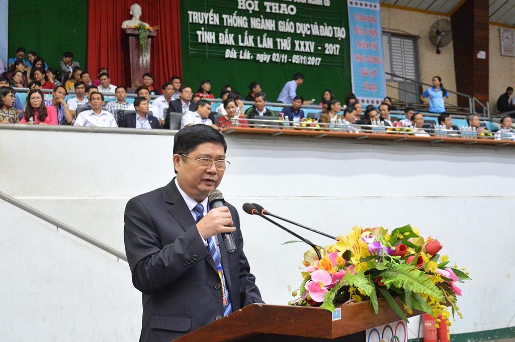 Hơn 1.300 vận động viên tham dự Hội thao truyền thống ngành Giáo dục và Đào tạo tỉnh lần thứ 35